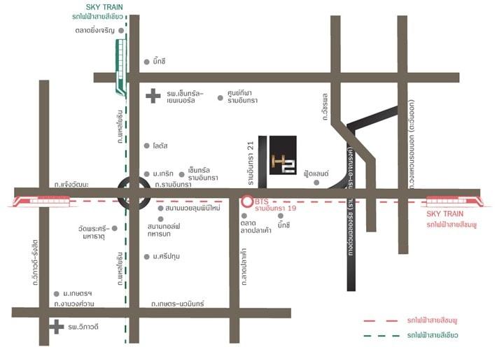 เอชทู รามอินทรา 21 อาคาร 1 [H2 Ramindra 21 Building 1]