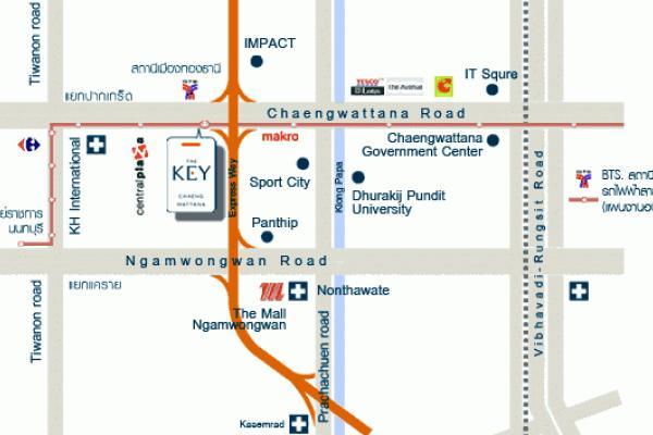เดอะ คีย์ แจ้งวัฒนะ อาคาร A [The Key Chaengwattana Building A]