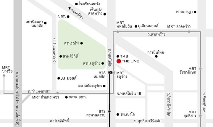 เดอะ ไลน์ จตุจักร-หมอชิต [The Line Jatujak-Mochit]