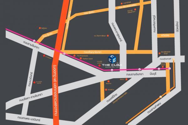 เดอะคิวบ์ สเตชั่น รามอินทรา 109 อาคาร A [The Cube Station Ramintra 109 Building A]