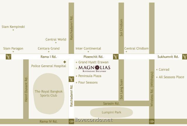 แมกโนเลียส์ ราชดำริ บูเลอวาร์ด [Magnolias Ratchadamri Boulevard]