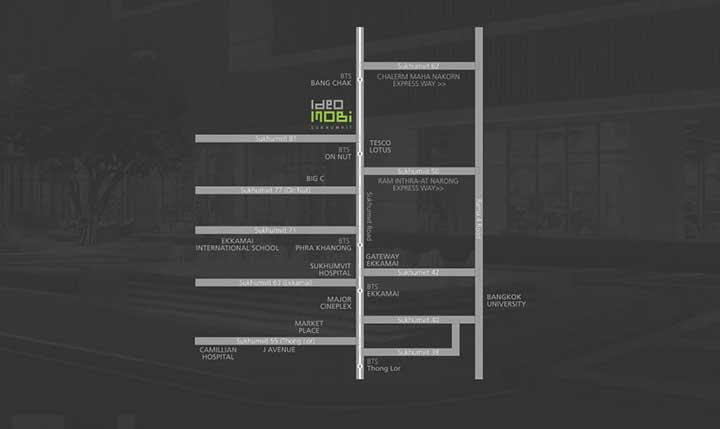 ไอดีโอ โมบิ สุขุมวิท [Ideo Mobi Sukhumvit] อาคาร A