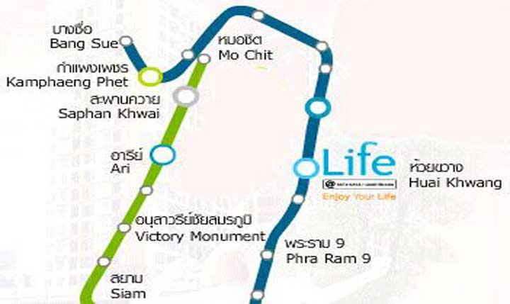 ไลฟ์ แอท รัชดา-ห้วยขวาง [Life @ Ratchada - Huay Kwang]
