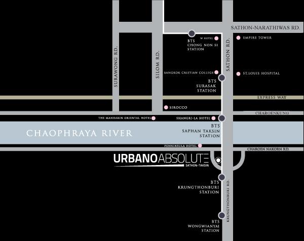 เออร์บาโน่ แอบโซลูท สาทร-ตากสิน [Urbano Absolute Sathon-Taksin]
