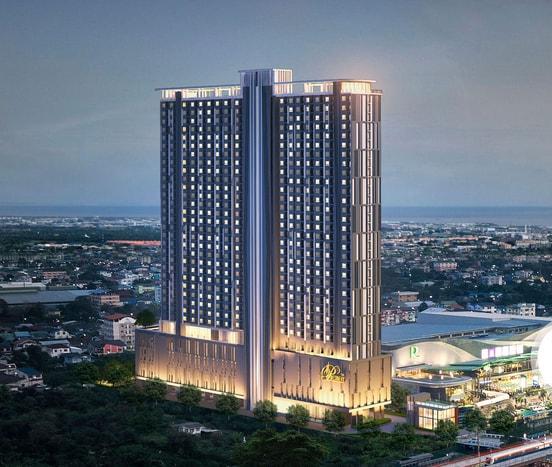 เดอะ เพรสซิเดนท์ สุขุมวิท 81 [The President Sukhumvit] ตึก A