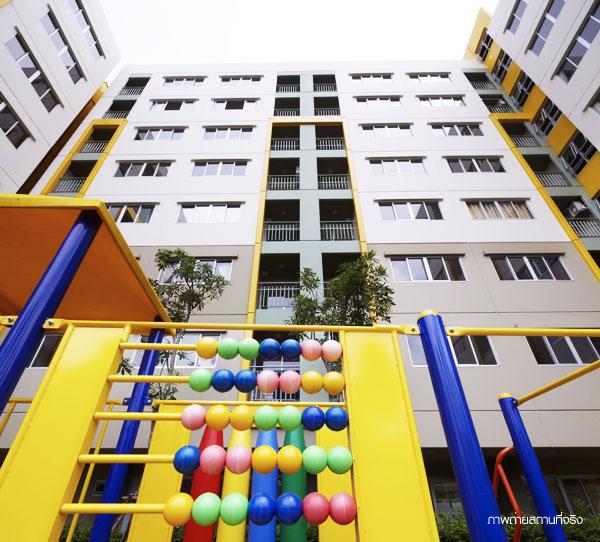 ลุมพินี คอนโดทาวน์ นิด้า-เสรีไทย อาคาร A1 [Lumpini Condo Town Nida - Serithai Building A1]