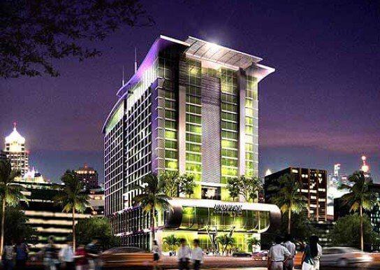 ดิ อินสไปร์ เพลส เอแบค พระราม 9 อาคาร 1 [The Inspire Place ABAC Rama 9 Building 1]