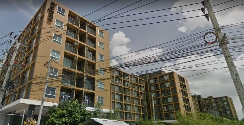 ยู @ หัวหมาก สเตชั่น อาคาร 1 [Condo U @ Huamark Station Building 1]