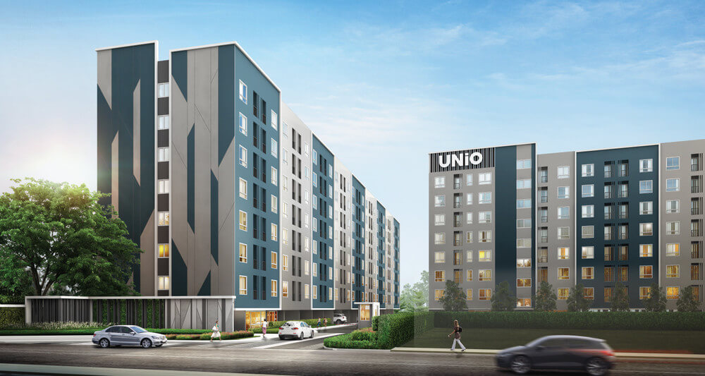 ยูนิโอ จรัญฯ 3 อาคาร 1 [Unio Charan 3 Building 1]