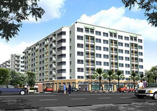 ลุมพินี วิลล์ ศูนย์วัฒนธรรม อาคาร 1 [Lumpini Ville Cultural Center Building 1]
