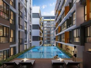 เดอะคิวบ์ พลัส มีนบุรี อาคาร 1 [The Cube Plus Minburi Building 1]