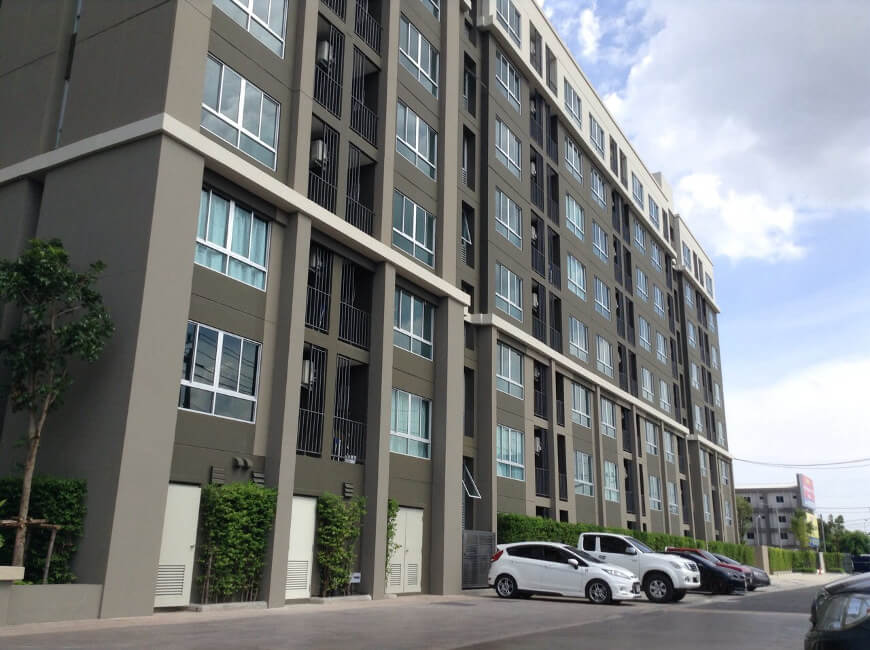 ดี คอนโด แคมปัส รีสอร์ท ราชพฤกษ์ จรัญฯ 13 อาคาร 1 [D Condo Campus Resort Ratchapruek-Charan 13 Building 1]