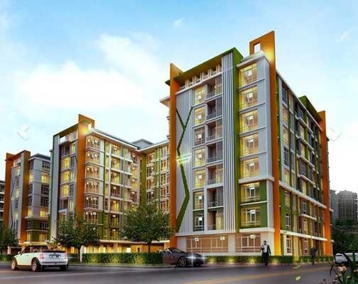 เอ็มเมอรัล เรสซิเดนท์ รัชดา อาคาร C [Emerald Residence Ratchada Building C]