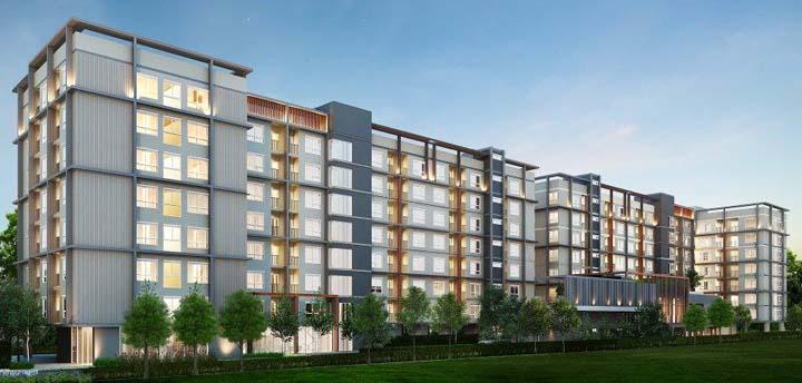เดอะ เบลล่า คอนโด พระราม 2 อาคาร 1 [The Bella Condo Rama 2 Building 1]