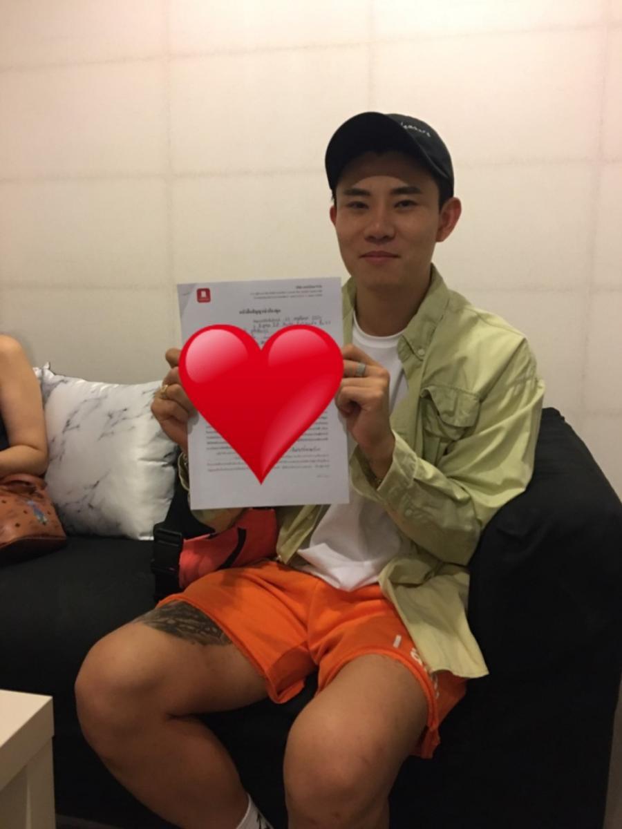 ขอขอบคุณ Mr.Chung Sanghoon และคุณนภัส ที่ให้ความไว้วางใจ Condothai ช่วยดูแลการเช่าคอนโด